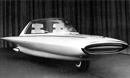 1957 ford bimini concept car